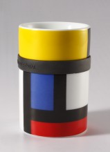 """""""Mondri"""" Mondrian Ring Mug"""