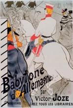 Lautrec Lithograph